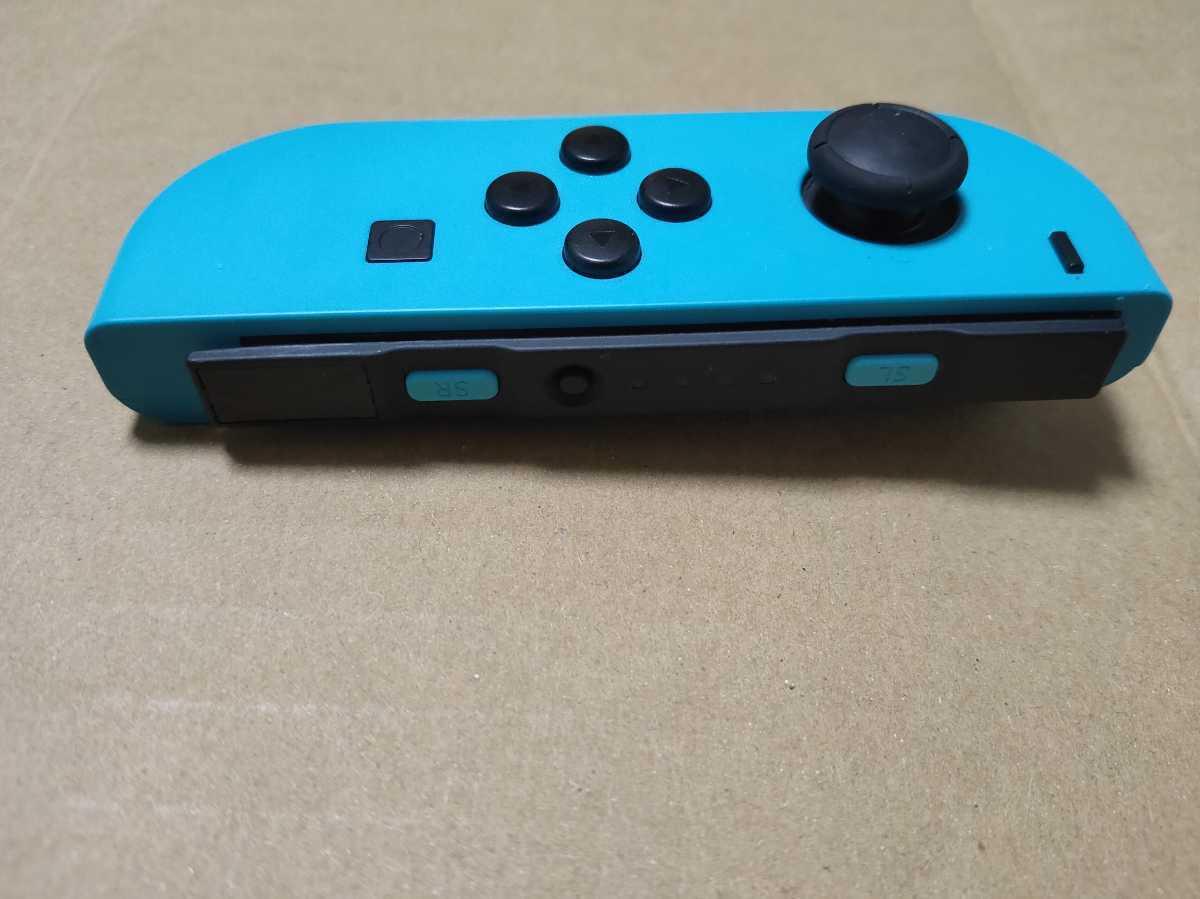 【送料無料・匿名配送】ニンテンドースイッチジョイコン ネオンブルー(左) Nintendo Switch Joy-Con