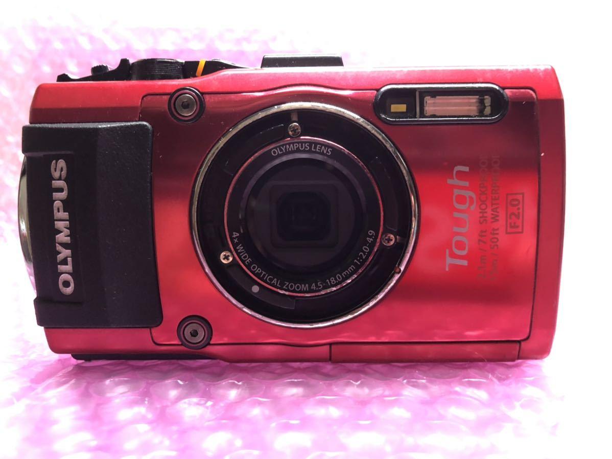 OLYMPUS STYLUS TG-4 Tough デジタルカメラ 中古品 オリンパス