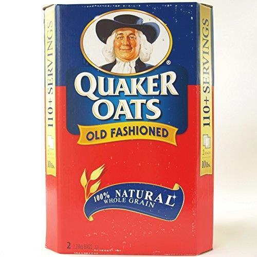 ★在庫限り★ QUAKER OATS クエーカー オールドファッションオートミール4.52kg 2.26kgX2パック入_画像3
