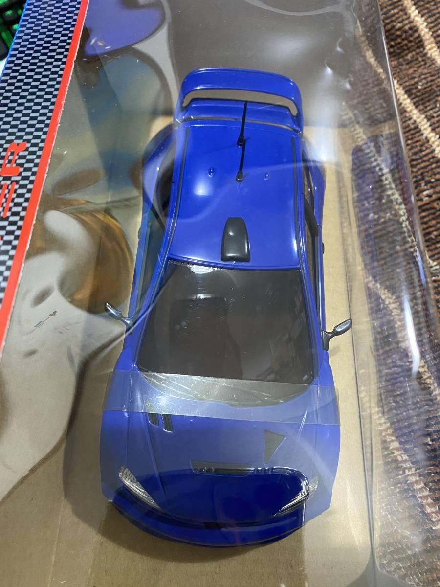 【レア】POWERS JAPAN ミニッツ用ボディ MINI POWER プジョー206WRC ディープ・ブルー MINIZ