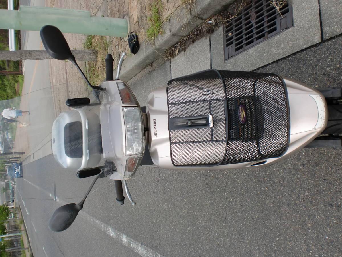 「スズキ アドレスV100(CE11A)実動車 ジャンク 3N」の画像2