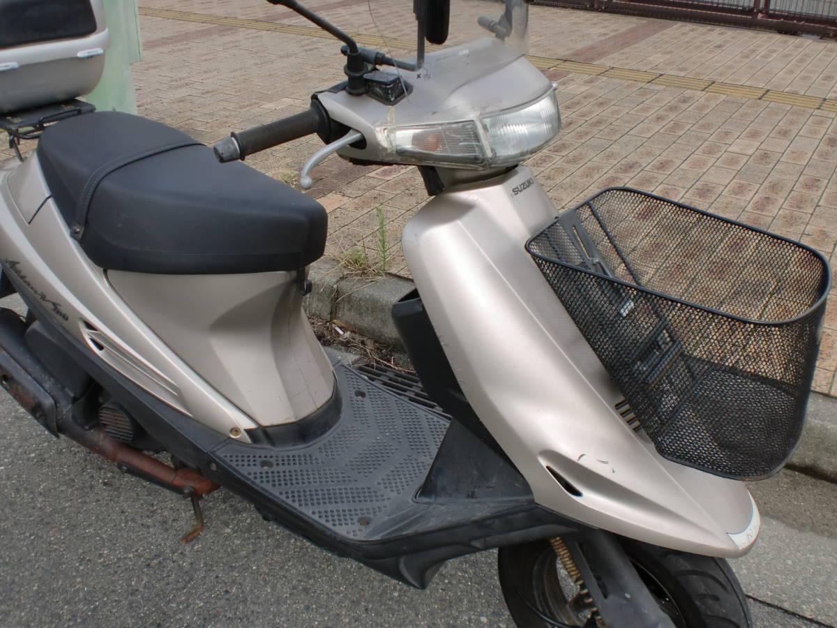 「スズキ アドレスV100(CE11A)実動車 ジャンク 3N」の画像3