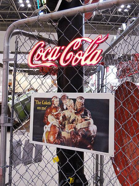 【161012】50sダイナーの雰囲気を再現♪コカ・コーラブランド LEDミニレタリングサイン coke アメリカ雑貨 時計 オールディーズ 60s _画像4