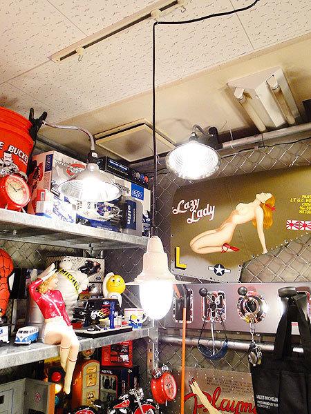 【77142】外国の雰囲気漂うお部屋作りにイチオシの照明!ダルトン アルミニュムペンダントライト(アイボリー)/アメリカ雑貨/おしゃれ/人気_画像7