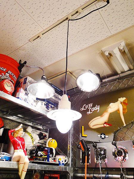 【77142】外国の雰囲気漂うお部屋作りにイチオシの照明!ダルトン アルミニュムペンダントライト(アイボリー)/アメリカ雑貨/おしゃれ/人気_画像4