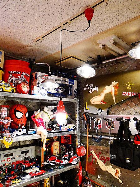 【77238】外国の雰囲気漂うお部屋作りにイチオシの照明!ダルトン アルミニュムペンダントライト(レッド)/アメリカ雑貨/おしゃれ/ランプ_画像6