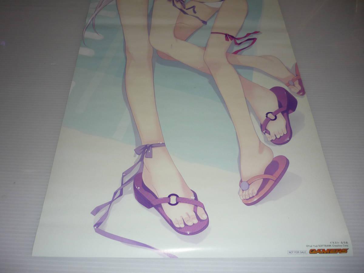 【送料無料】ポスター 俺の彼女と幼なじみが修羅場すぎ ゲーマーズ / 非売品 スティックポスター_画像4