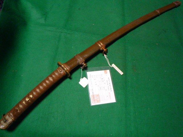 94式軍刀の拵え 本身入り無名 光沢塗 短剣指揮刀_画像1