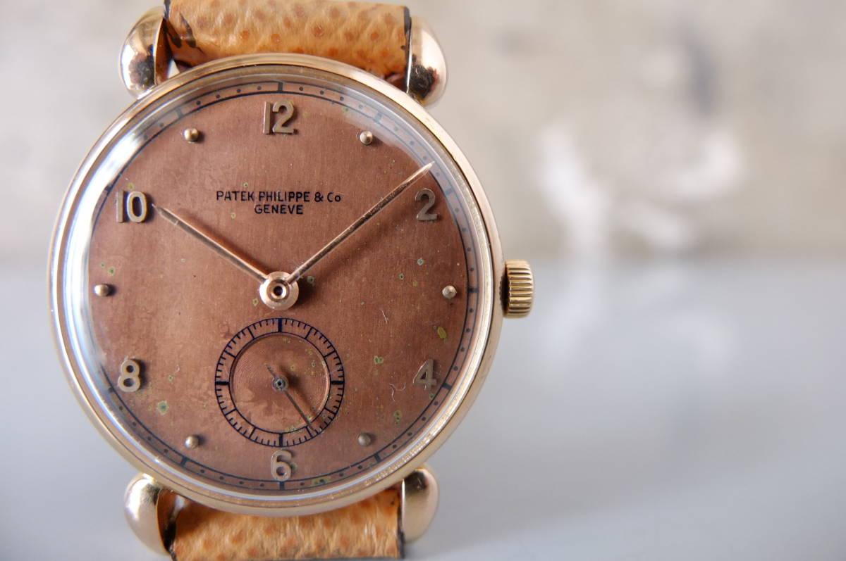 ★超希少品 パテックフィリップ 18金無垢 1940年代 カラトラバ Ref.590 PATEK PHILIPPE 手巻き アンティーク ヴィンテージ 腕時計
