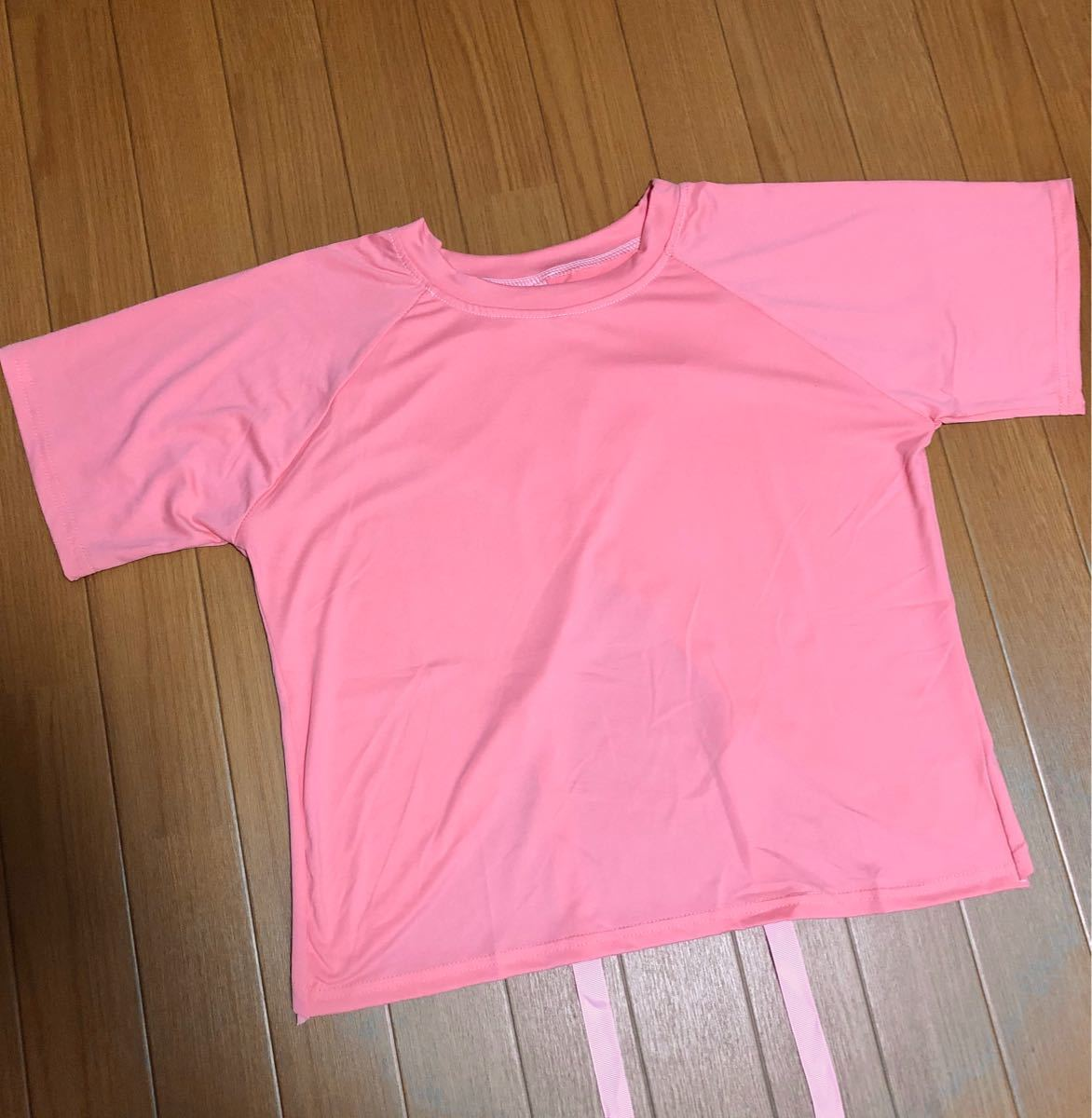 バックリボンTシャツ(ピンク)