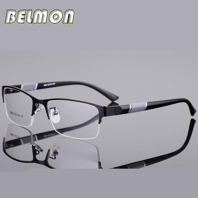 ★1円スタート★メンズ 男性用 ステンレス メガネ フレーム 眼鏡 AT2330 _画像1