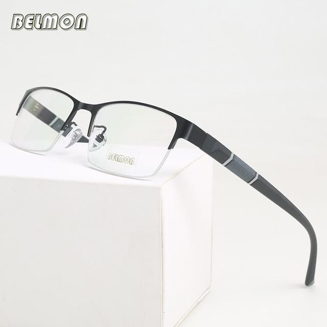 ★1円スタート★メンズ 男性用 ステンレス メガネ フレーム 眼鏡 AT2330 _画像4