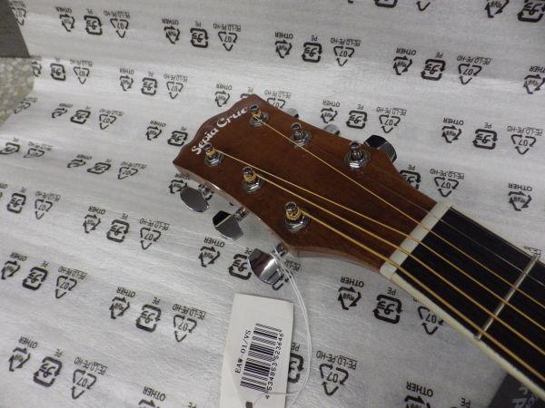 Sepia Crue セピアクルー チューナー機能付き エレアコギター EAW-01/VSケース・ケーブル付属 ストラップサービス_画像3