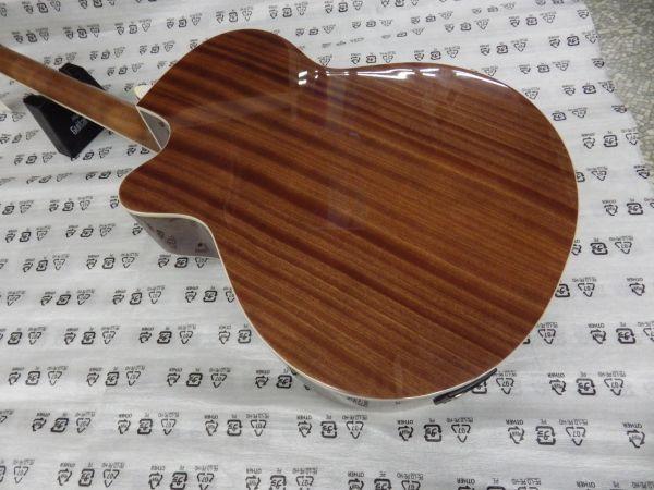 Sepia Crue セピアクルー チューナー機能付き エレアコギター EAW-01/VSケース・ケーブル付属 ストラップサービス_画像7