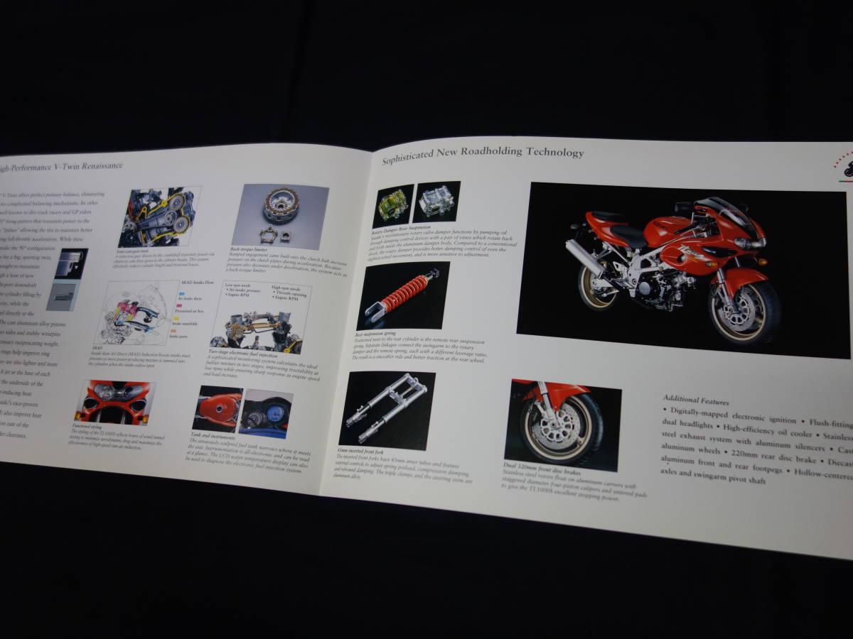 【輸出仕様】スズキ TL1000S VT51A型 専用 カタログ 英語版 / 1996年 【当時もの】_画像5