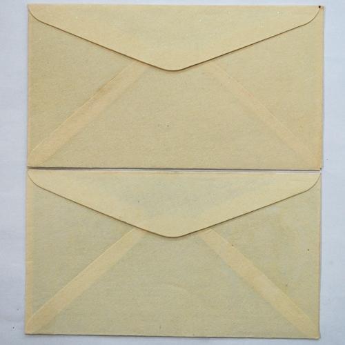 第13回国民体育大会記念切手 1958年国体 バドミントン 重量あげ 5円×4枚 FDC 2種ペア貼 消印なし_画像5