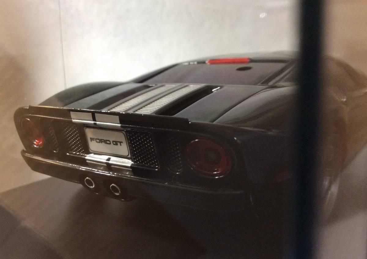 京商 ミニッツ ボディ フォードGT ブラック/シルバーストライプ Ford GT MR03 VE EVO mini-z オートスケール ASC AutoScale