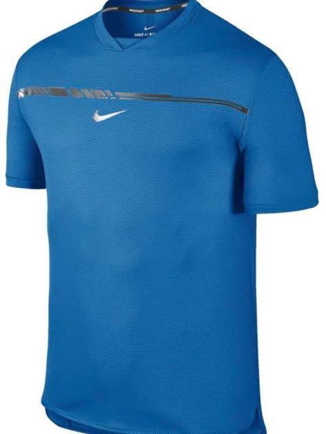ナイキ ナダルモデル クルーネックシャツ XLサイズ テニス フェデラー NIKE 854663-433_画像4