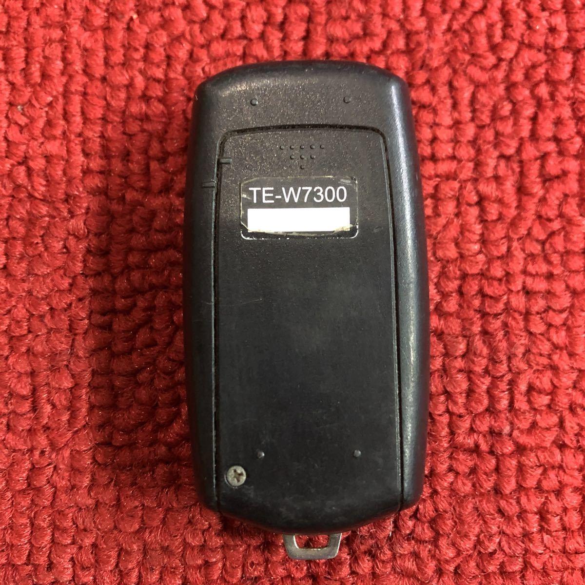 カーメイト TE-W7300 エンジンスターター リモコン 作動未チェック JJ636_画像3