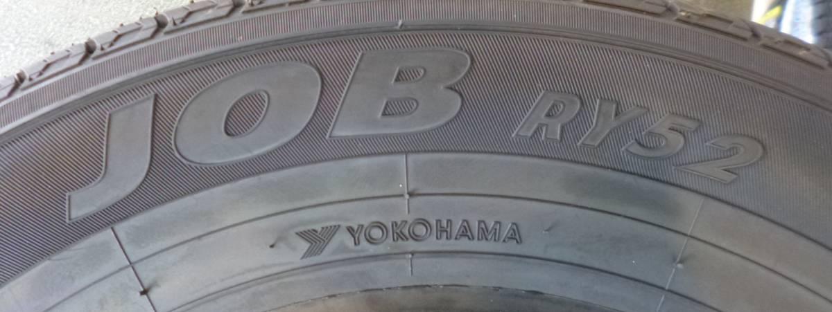 【CT1】YOKOHAMA JOBRY52 165R14 8RLT 4本 未使用品 2,017年_画像4