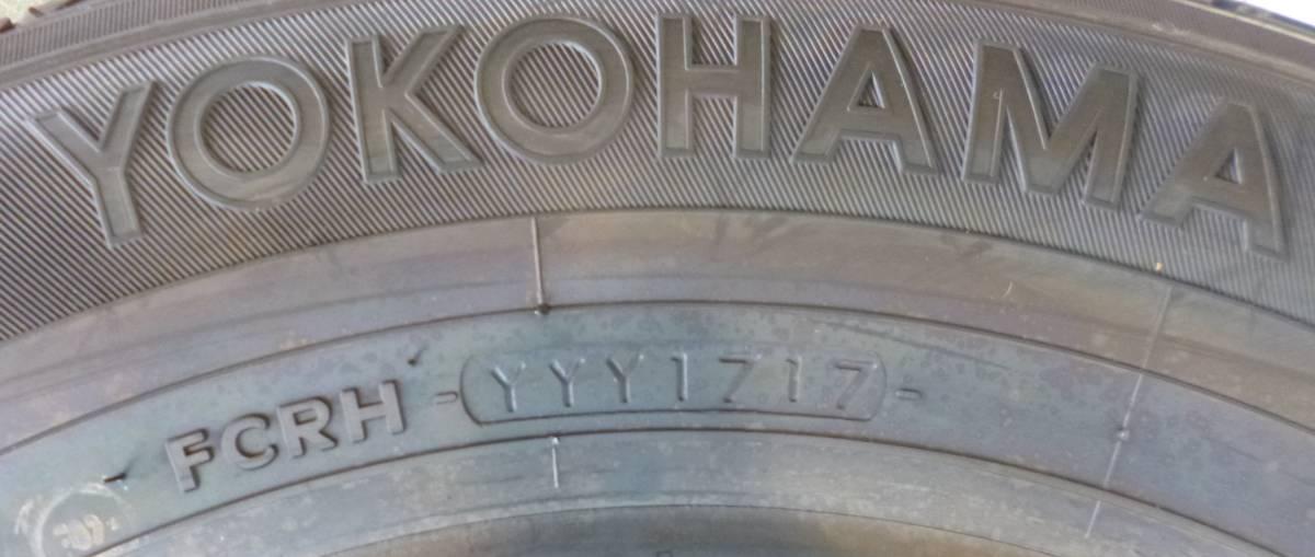 【CT1】YOKOHAMA JOBRY52 165R14 8RLT 4本 未使用品 2,017年_画像6