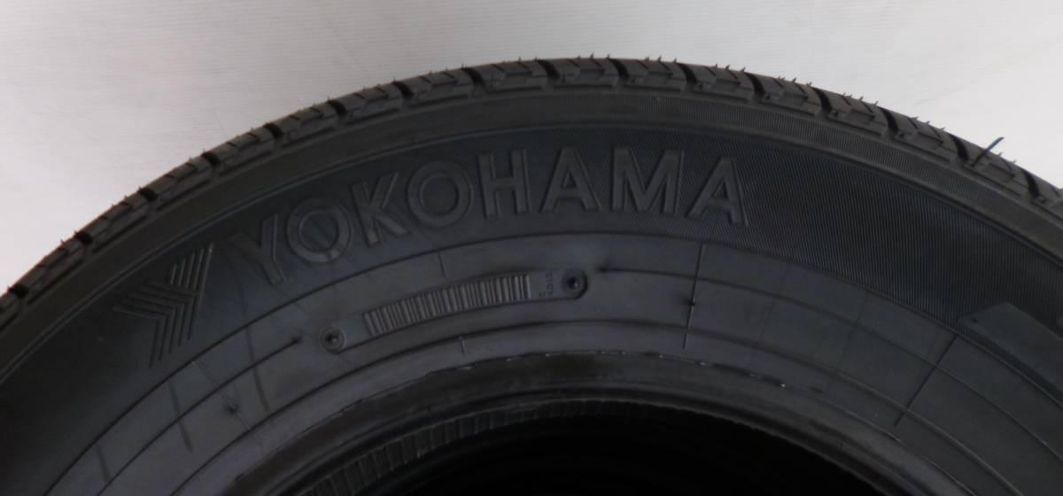 【CT1】YOKOHAMA JOBRY52 165R14 8RLT 4本 未使用品 2,017年_画像2