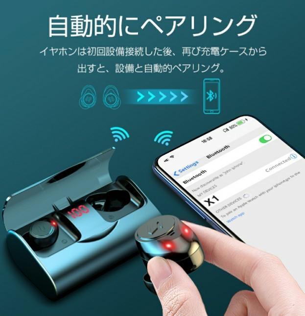 【新品】ワイヤレスイヤホン PSEマーク付き Bluetoothイヤホン 高音質