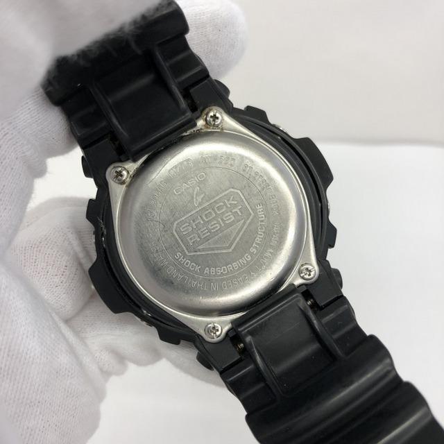 中古 G-SHOCK ジーショック CASIO カシオ 腕時計 AW-590 アナデジ デジアナ ラウンドフェイス コンビネーションモデル ブラック RY3071_画像5