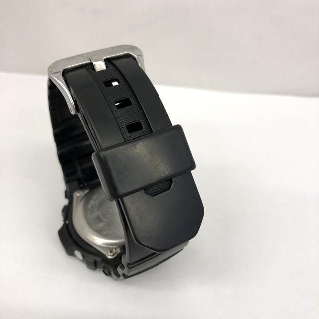 中古 G-SHOCK ジーショック CASIO カシオ 腕時計 AW-590 アナデジ デジアナ ラウンドフェイス コンビネーションモデル ブラック RY3071_画像6