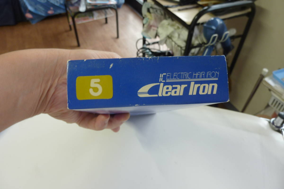 ☆【理容 理髪】Clear Iron 動作OK!クリアカール ヘアアイロン☆Clear Iron IC エレクトリック ヘアーアイロン極細 5mm_画像9