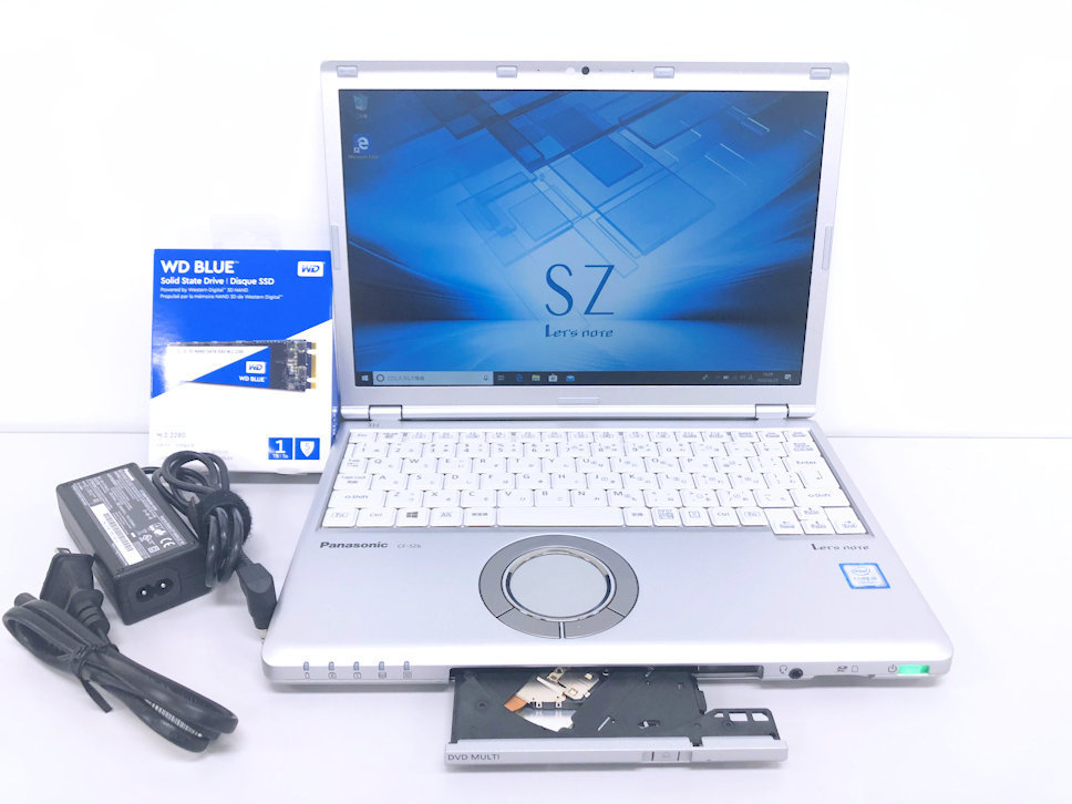 新品SSD 1TB◆Panasonic◆CF-SZ6◆i5 7300U◆RAM 8GB◆Office2016◆ラスト1台