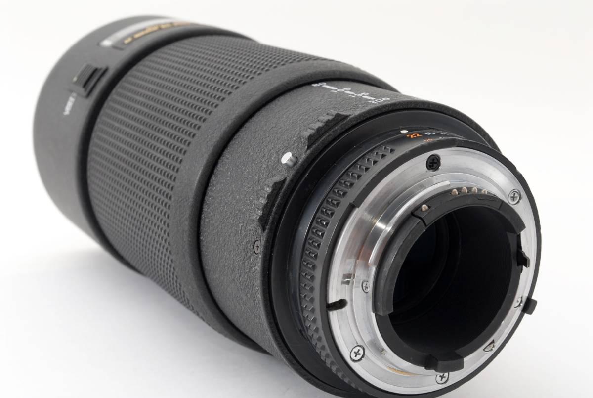 ★ニコン Nikon AF Nikkor 80-200mm 1:2.8 D ED Zoom ズーム レンズ オートフォーカス 一眼レフ カメラ 用 [外観極上] #634485_画像7