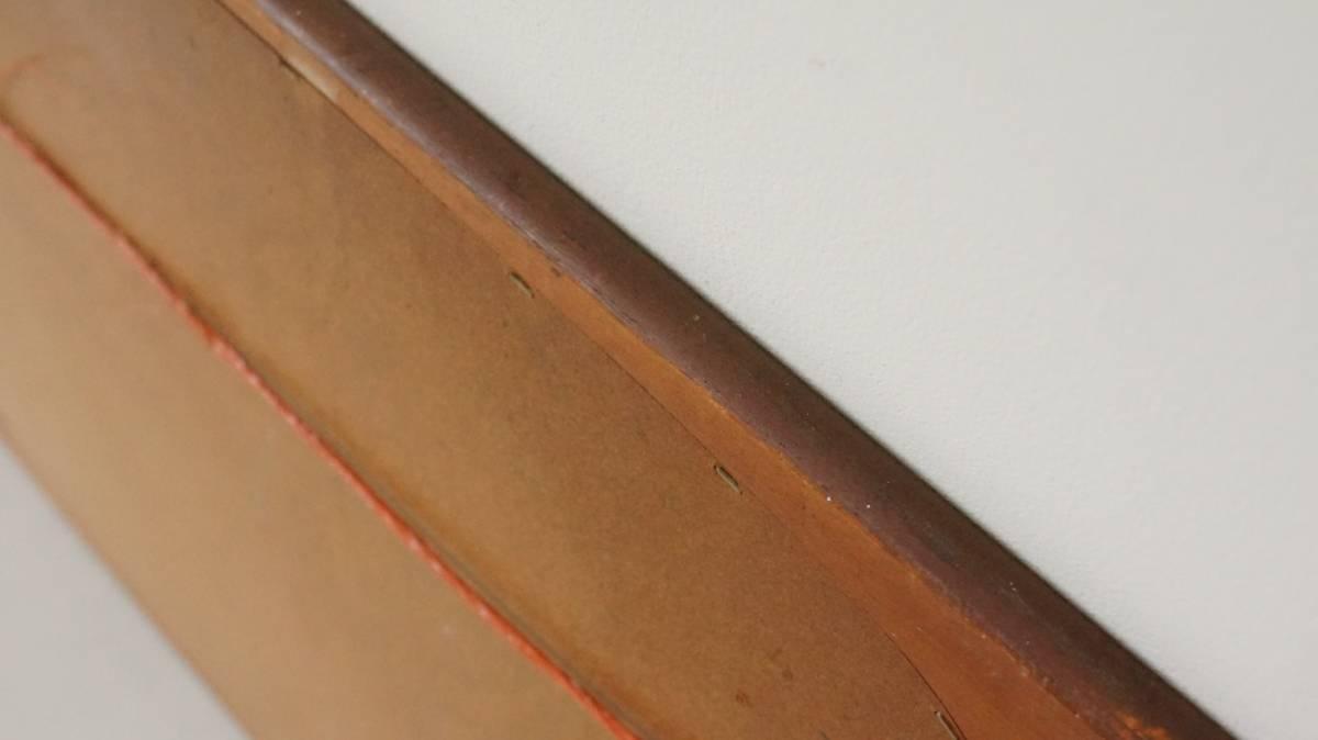 北欧 デンマーク チーク材 ミラー 鏡 ビンテージ アンティーク SA-316_画像6