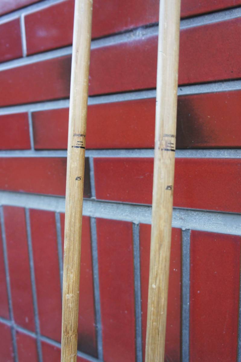 Komperdell Carbon Bamboo Ski Poles / コンパーデル カーボン バンブー ポール _画像5