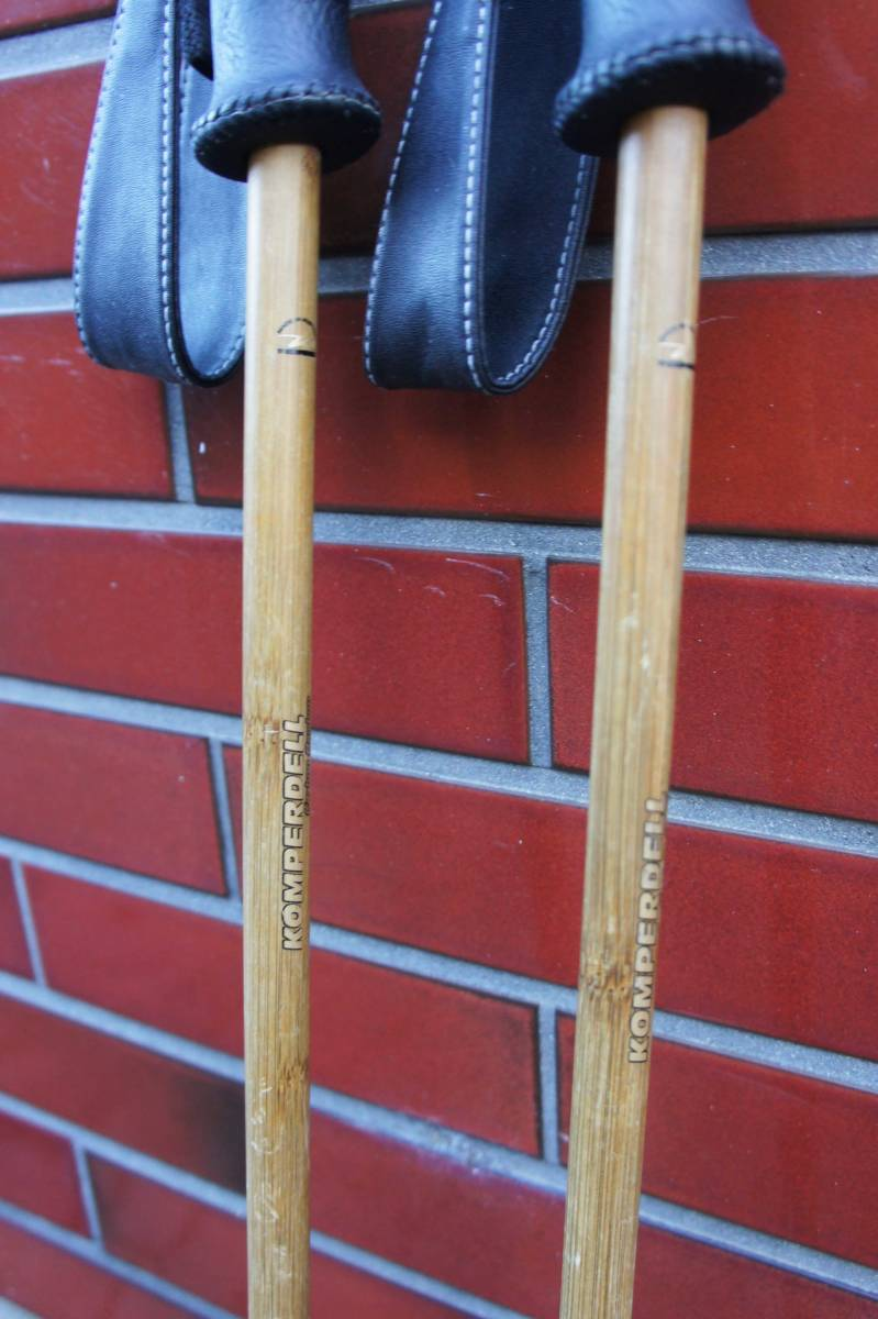 Komperdell Carbon Bamboo Ski Poles / コンパーデル カーボン バンブー ポール _画像4