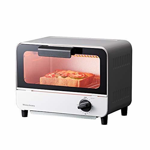 ホワイト 1)650W コイズミ オーブントースター 650W ホワイト KOS-0670/W モノクローム [Amazon限定_画像1