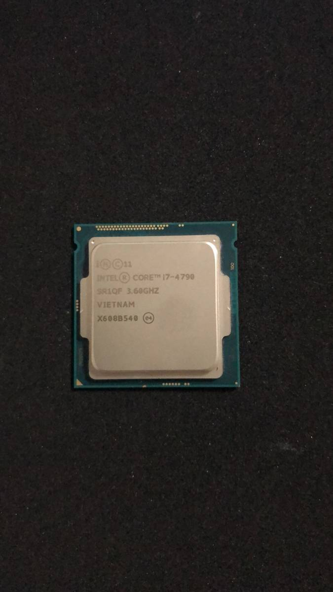 Intel インテル Core i7-4790 3.6GHz CPU junk