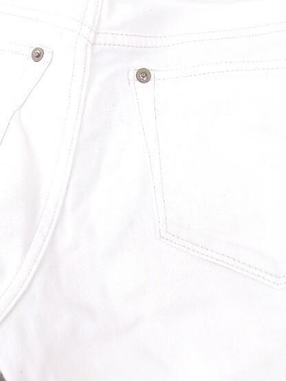 ◇ PLST プラステ ストレッチ デニム ジーンズ スキニー パンツ サイズ23 オフホワイト レディース_画像5