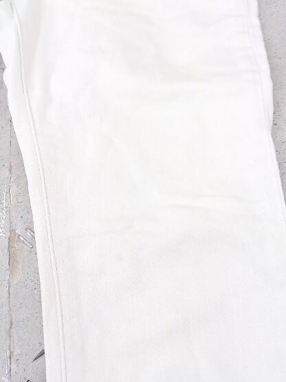 ◇ PLST プラステ ストレッチ デニム ジーンズ スキニー パンツ サイズ23 オフホワイト レディース_画像3