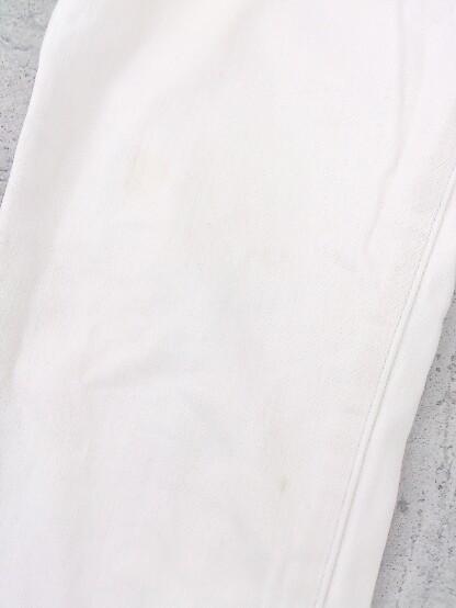 ◇ PLST プラステ ストレッチ デニム ジーンズ スキニー パンツ サイズ23 オフホワイト レディース_画像4