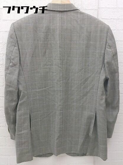◇ International Gallery BEAMS ビームス ウール100% 長袖 テーラード ジャケット サイズ44S グレー メンズ_画像2