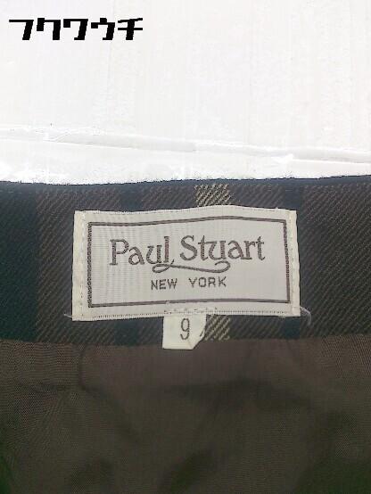 ◇ Paul Stuart ポール スチュアート ミニ スカート サイズ9AR ブラウン レディース_画像3
