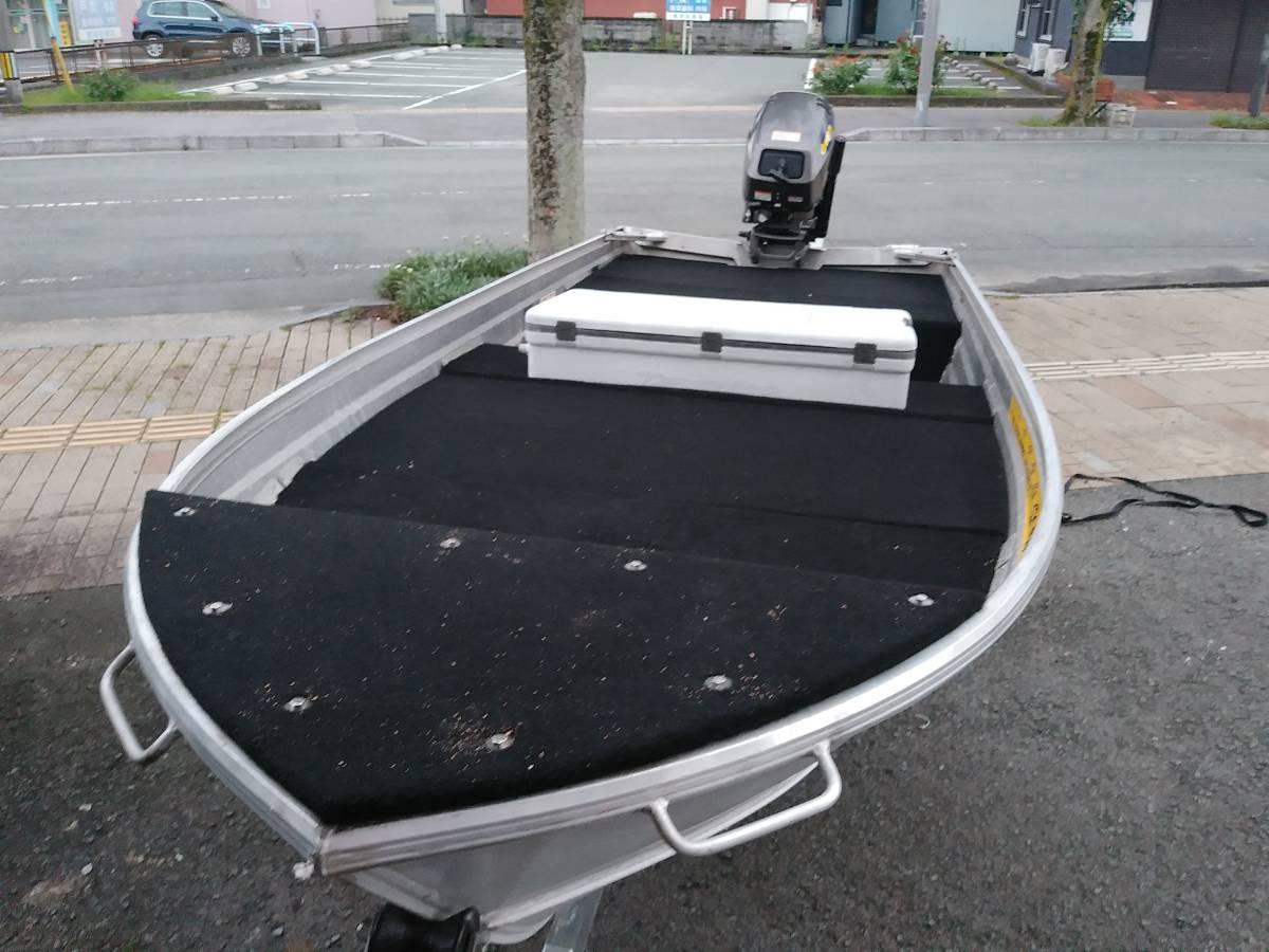 「アルミボート12F ステーサー360VN トーハツ4サイクル 9.9-15PS」の画像2