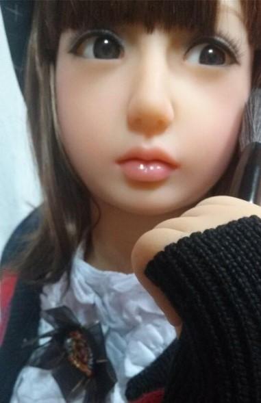 【フルボディ 】超精巧なアイドル系美少女マネキン フィギュア 撮影や一人暮らしのインテリアに 【組立不要】_画像3