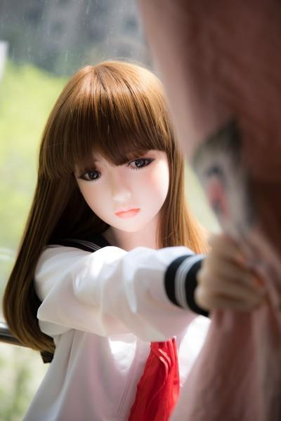 【 フルボディ】等身大の超精巧なJKマネキン 美少女女子高生 フィギュア ドール 撮影や一人暮らしのインテリアに  _画像4