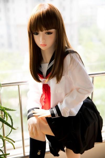 【 フルボディ】等身大の超精巧なJKマネキン 美少女女子高生 フィギュア ドール 撮影や一人暮らしのインテリアに  _画像3