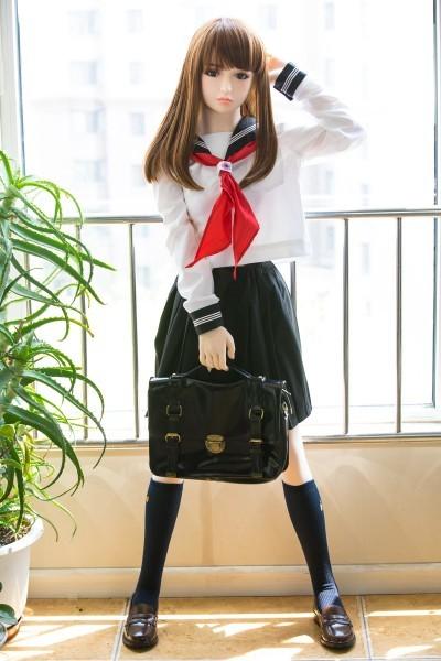 【 フルボディ】等身大の超精巧なJKマネキン 美少女女子高生 フィギュア ドール 撮影や一人暮らしのインテリアに  _画像2