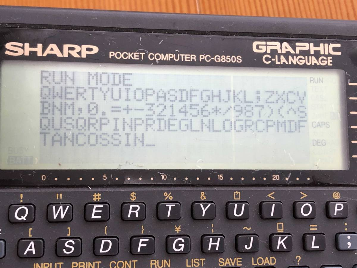 price cut negotiations possible * pocket computer PC-G850S SHARP education for calculator Pocket Computer