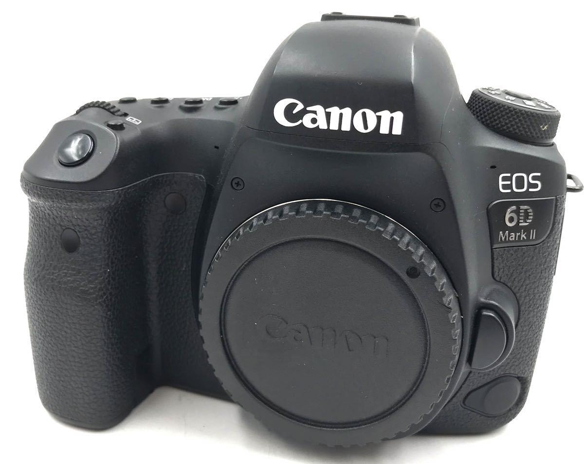 【中古品】Canon キャノン デジタル一眼レフカメラ EOS 6D Mark II