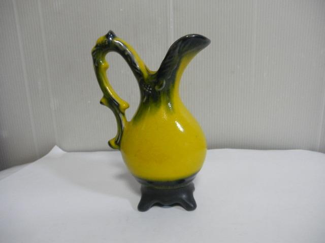 @@西洋 西洋アンティーク 水差し 一輪挿し 陶器 グラデーション インテリア 雑貨 小物 飾り物 西洋陶器 西洋物_画像1